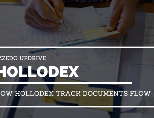How Hollodex track documents flow