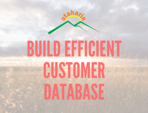 How UG Otaharin built efficient customer database
